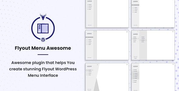 Vertical Slide Menu WordPress Plugin - Flyout Menu Awesome - CodeCanyon Item for Sale