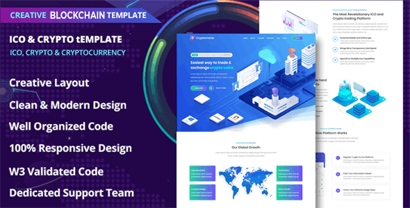 Ranzy - ICO and Crypto Template - CodeCanyon Item for Sale