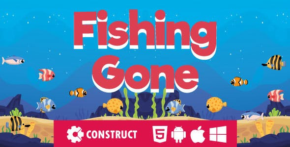 Fishing Gone – HTML5 Mobile Game