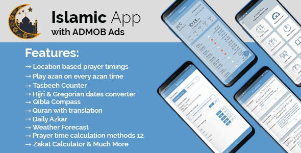 Advance Islamic Features App