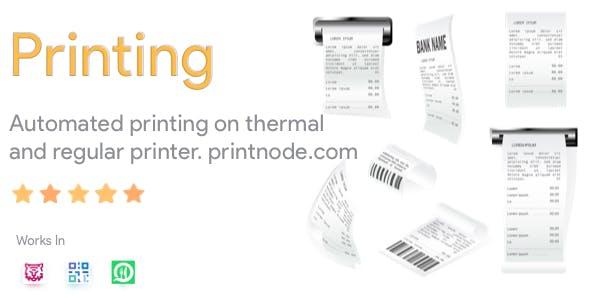 Thermal Printer Module for FoodTiger, WhatsApp Food and QR Menu