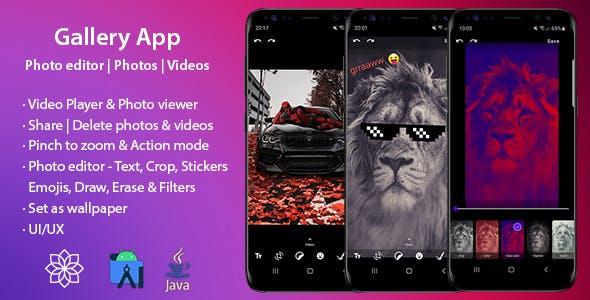 Gallery App - Photo editor |Photos | Videos