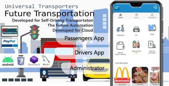 Universal Transporter Apps – 27 April 2021