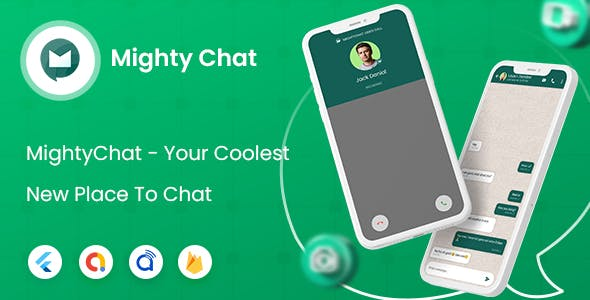 MightyChat- Chat App With Firebase Backend + Agora.io