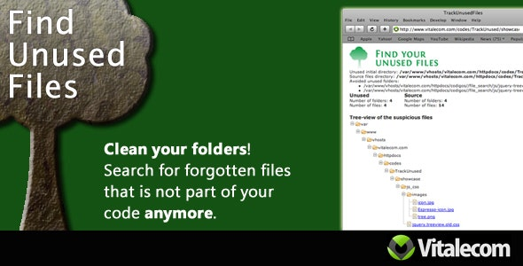 Find Unused Files - CodeCanyon Item for Sale