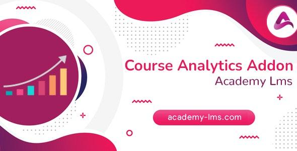 Academy LMS Course Analytics Addon v1.0