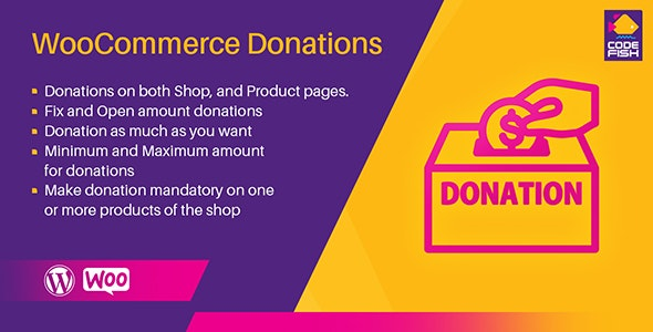 WooCommerce Donations - CodeCanyon Item for Sale