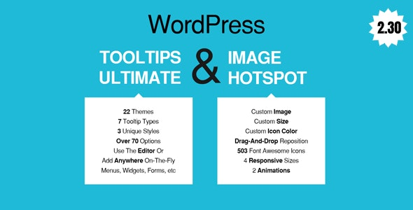 WordPress Tooltips Ultimate & Image Hotspot - CodeCanyon Item for Sale