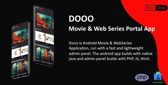 Dooo v1.5.5 – Movie & Web Series Portal App – nulled