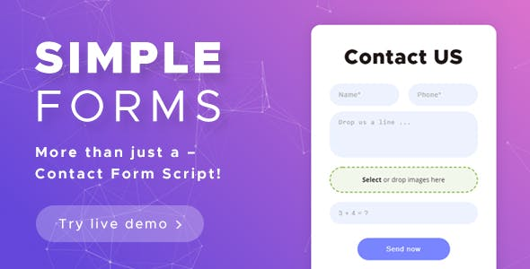 Contact Form Script - Simple Forms
