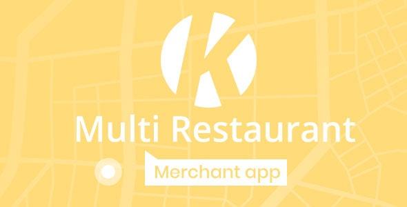 Karenderia Merchant App - CodeCanyon Item for Sale