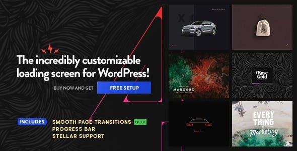 PageLoader: WordPress Preloader and Progress Bar