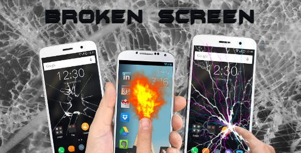 Broken Screen Prank - Android Application + Admob Integration