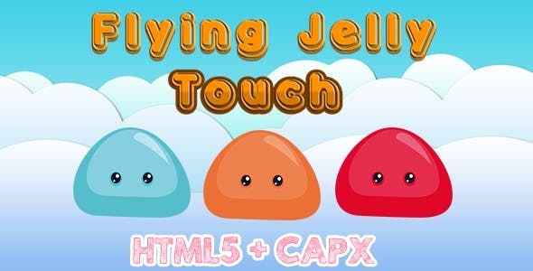 Flying Jelly Touch - Html5 Construct 2 Game