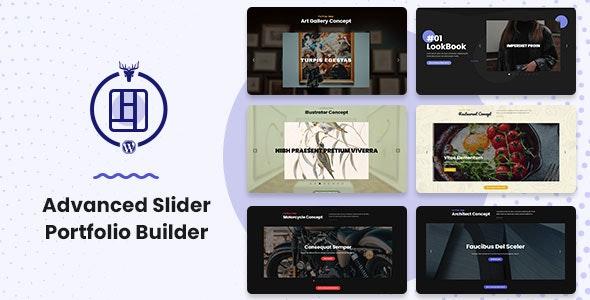 Advanced Slider Portfolio Builder - CodeCanyon Item for Sale