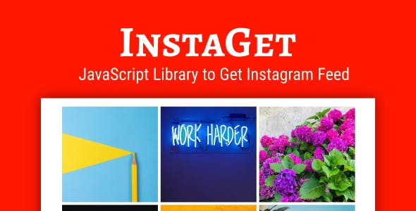 InstaGet - JavaScript Library for Instagram