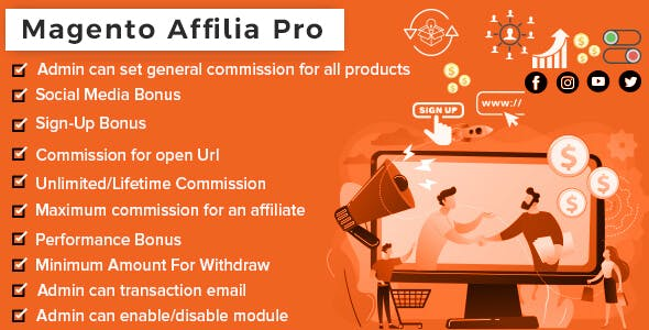 Affilia - Affiliate & Referral Program for Magento