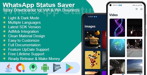 WhatsApp Status Saver - Story Downloader for Whatsapp & Whatsapp Business - CodeCanyon Item for Sale