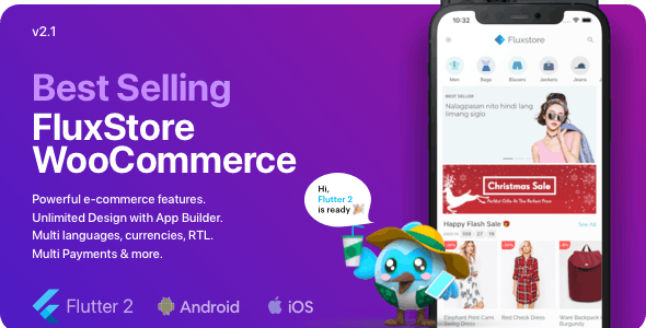 Fluxstore WooCommerce - Flutter E-commerce Full App