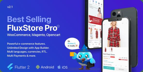Fluxstore Pro - Flutter E-commerce Full App for Magento, Opencart, and Woocommerce