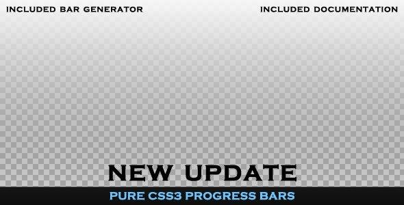 CSS Progress Bar - CodeCanyon Item for Sale