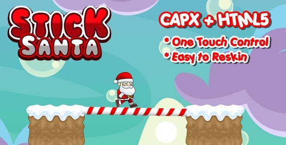 Stick Santa - Construct 2 Html5 Game - CodeCanyon Item for Sale