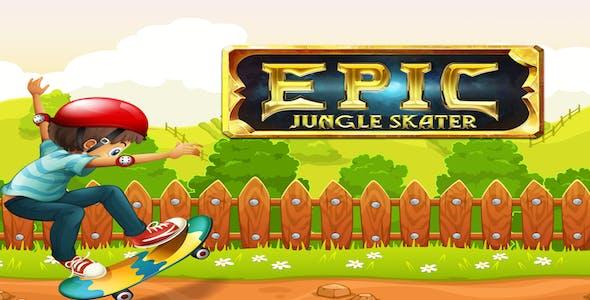 Epic Jungle Skater Run Adventure -  Complete Unity Template
