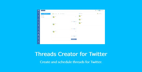 Threads Creator for Twitter - script with SAAS support