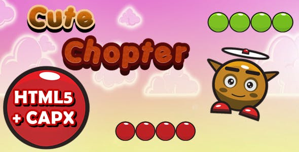 Cute Chopter - Construct 2 Html5 Game