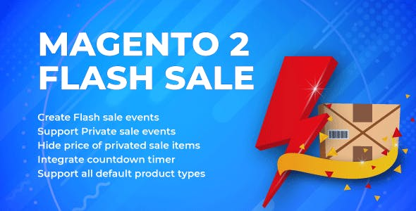 Magento 2 Flash Sales - Private Sales Extension