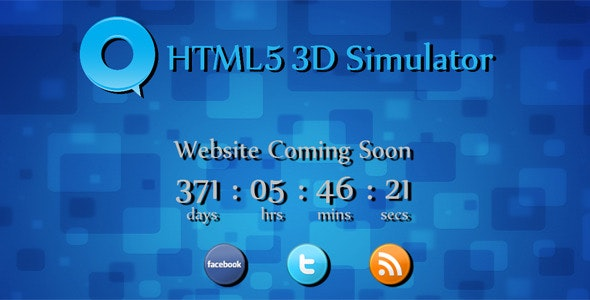 Q - HTML5 3D Simulator - CodeCanyon Item for Sale