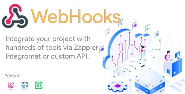 WebHooks - Plugin for FoodTiger, Qr Menu Maker and WhatsApp Food