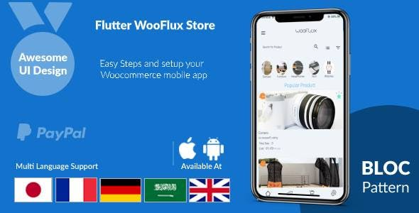 Flutter CMS for Ecommerce with Mobile App and Admin Panel