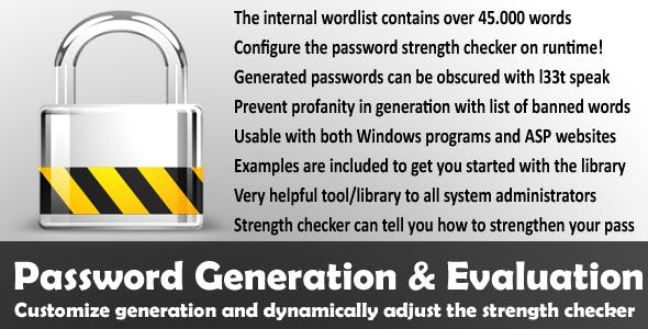 Password Generation and Evaluation
