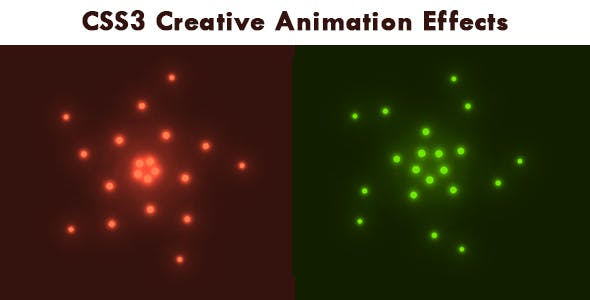 CSS3 Creative Animation Effects