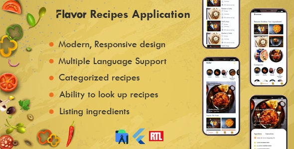 Flavor App - CodeCanyon Item for Sale