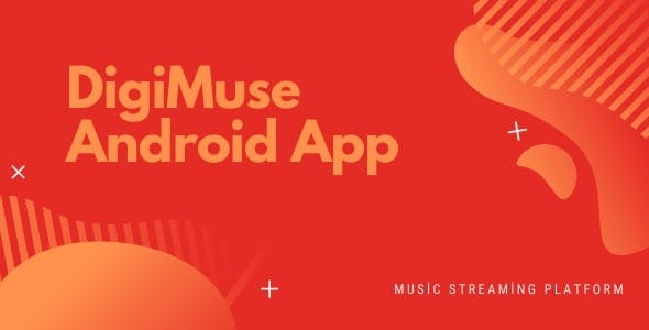 DigiMuse Android - Music Streaming Platform