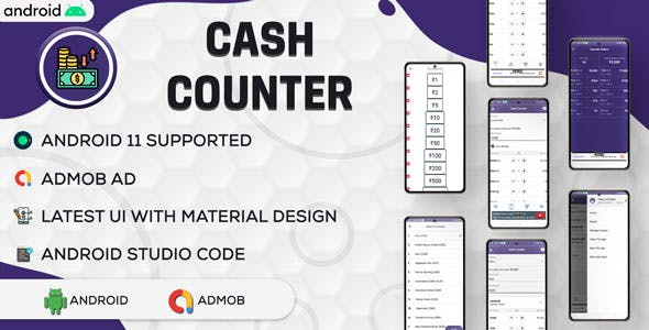Cash Calculator Credit Debit Book | Credit Debit Book | Android | Admob