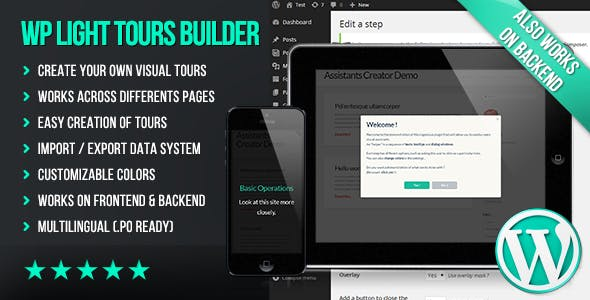 WP Light Tours Builder
