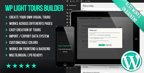 WP Light Tours Builder - CodeCanyon Item for Sale