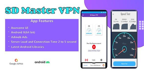 SD Master VPN | Super Fast, Free & Secure VPN