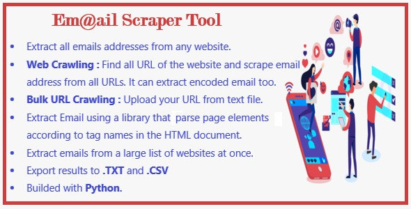 Email Extractor Scraper Tool - CodeCanyon Item for Sale