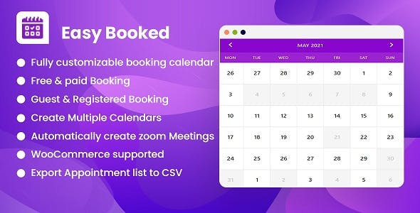 Easy Booked - Appointment Booking and Scheduling Management System for WordPress