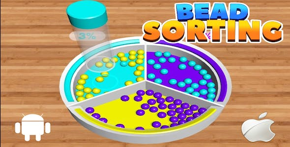 Bead Sorting 3d Puzzle - Complete Unity Template