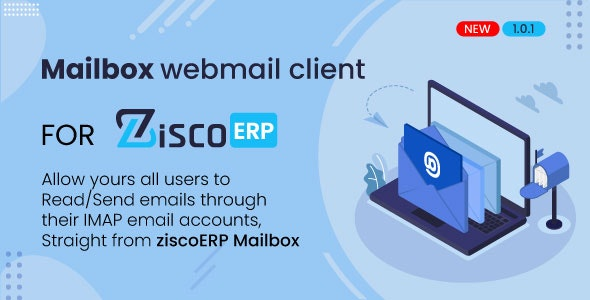 Mailbox - e-mail client for ZiscoERP - CodeCanyon Item for Sale