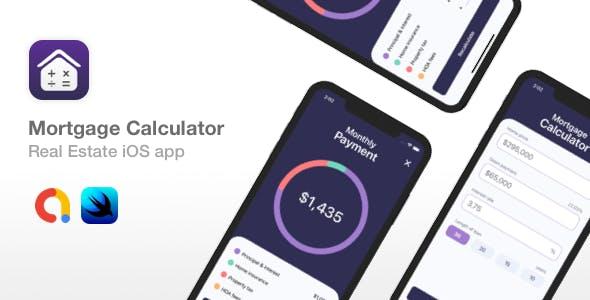 Mortgage Calculator - SwiftUI Real Estate iOS