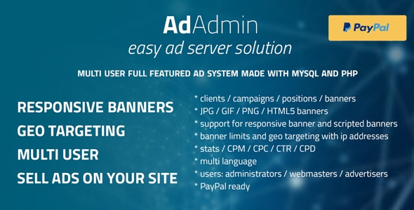 AdAdmin - Easy full featured ad server - CodeCanyon Item for Sale