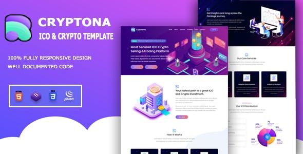 Cryptona - ICO and Crypto Template