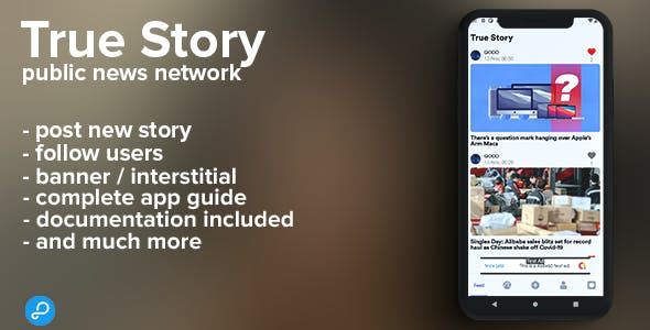 True Story (android) - Public news network