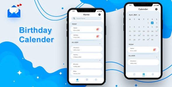 Birthday Calendar Android App